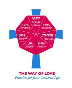 The Way of Love Circle: Adult Formation Thursdays, July 23-September 10, 7:00-8:00 pm via Zoom