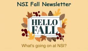 NSI Fall 2020 Newsletter