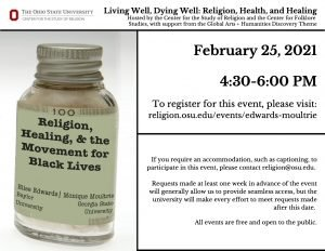 Living Well, Dying Well: Religion, Health, and Healing