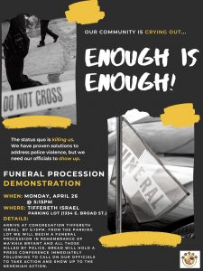 Protesting Ma'Khia Bryant's Death
