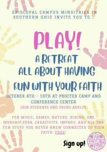 Read more about the article Young Adult Retreat, October 8-10 at Procter Camp & Conference Center