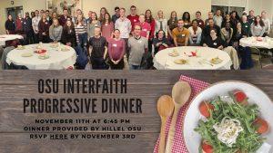 OSU Interfaith Progressive Dinner